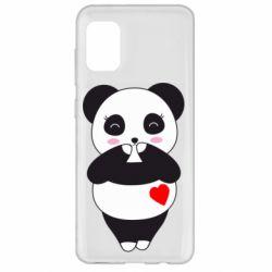 Чохол для Samsung A31 Cute panda