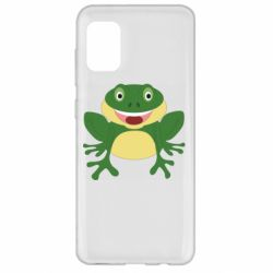 Чехол для Samsung A31 Cute toad