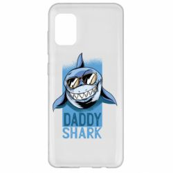 Чехол для Samsung A31 Daddy shark