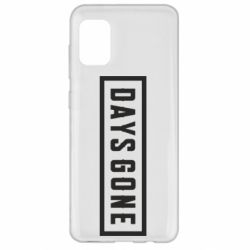 Чохол для Samsung A31 Days Gone color logo