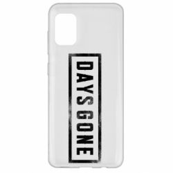 Чохол для Samsung A31 Days Gone Logo