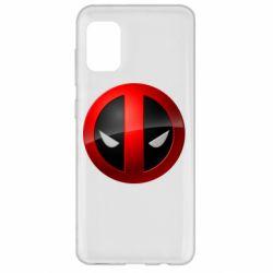 Чехол для Samsung A31 Deadpool Logo