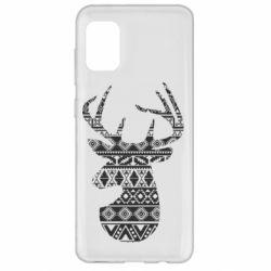 Чохол для Samsung A31 Deer from the patterns