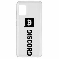 Чохол для Samsung A31 Discord