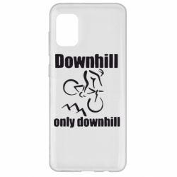 Чохол для Samsung A31 Downhill,only downhill