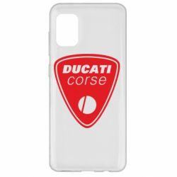 Чехол для Samsung A31 Ducati Corse