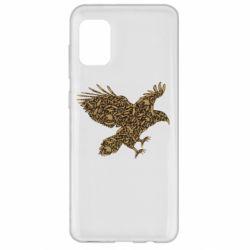 Чехол для Samsung A31 Eagle feather