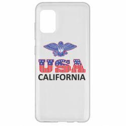 Чехол для Samsung A31 Eagle USA