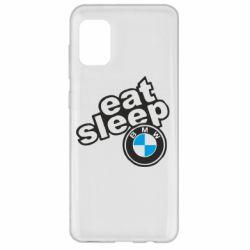 Чохол для Samsung A31 Eat, sleep, BMW