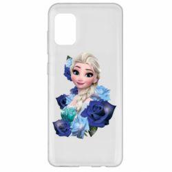 Чохол для Samsung A31 Elsa and roses