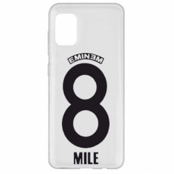 Чехол для Samsung A31 Eminem 8 mile