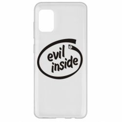 Чехол для Samsung A31 Evil Inside
