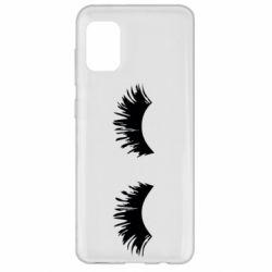 Чохол для Samsung A31 Eyelashes
