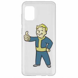 Чехол для Samsung A31 Fallout Boy