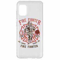Чохол для Samsung A31 Fire Fighter