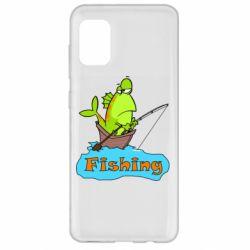 Чехол для Samsung A31 Fish Fishing