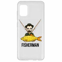Чохол для Samsung A31 Fisherman and fish
