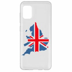 Чехол для Samsung A31 Флаг Англии