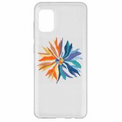 Чохол для Samsung A31 Flower coat of arms of Ukraine