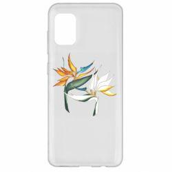Чехол для Samsung A31 Flowers art painting