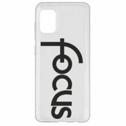 Чохол для Samsung A31 Focus