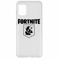 Чехол для Samsung A31 Fortnite and llama