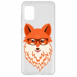 Чохол для Samsung A31 Fox with a mole in the form of a heart