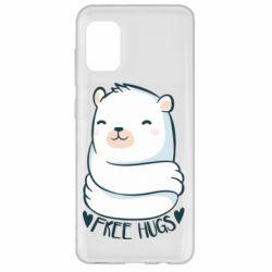 Чохол для Samsung A31 Free hugs bear