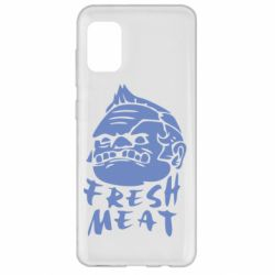 Чехол для Samsung A31 Fresh Meat Pudge