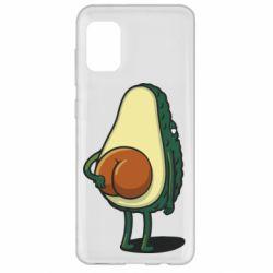 Чохол для Samsung A31 Funny avocado