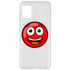 Чохол для Samsung A31 Funny Red Ball