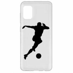 Чехол для Samsung A31 Футбол