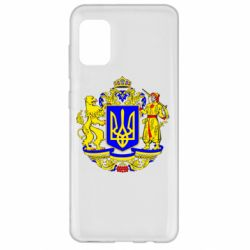 Чехол для Samsung A31 Герб Украины полноцветный