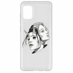 Чехол для Samsung A31 Girl and demon