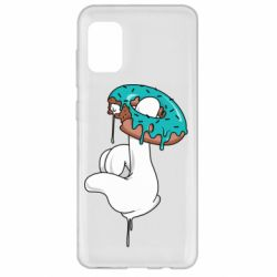 Чехол для Samsung A31 Glove and donut