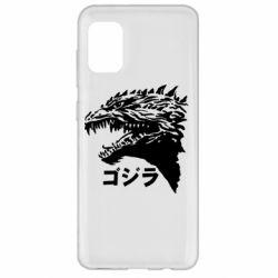 Чохол для Samsung A31 Godzilla in japanese