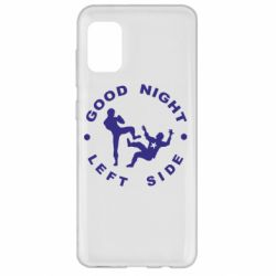 Чехол для Samsung A31 Good Night