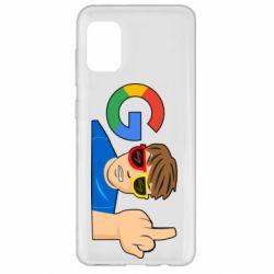 Чохол для Samsung A31 Google guy Fuck You