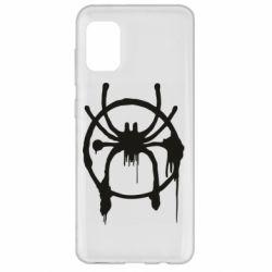 Чохол для Samsung A31 Graffiti Spider Man Logo