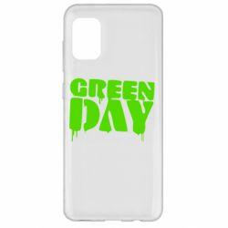 Чехол для Samsung A31 Green Day