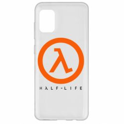 Чехол для Samsung A31 Half-life logotype