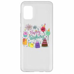 Чохол для Samsung A31 Happy Birthday