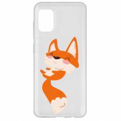 Чехол для Samsung A31 Happy fox