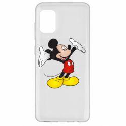 Чохол для Samsung A31 Happy Mickey Mouse