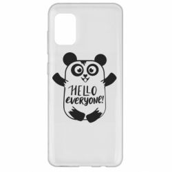 Чехол для Samsung A31 Happy panda