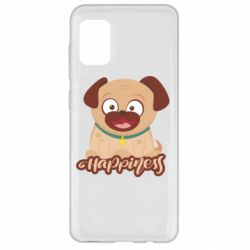 Чехол для Samsung A31 Happy pug