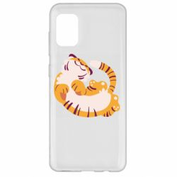 Чохол для Samsung A31 Happy tiger