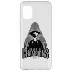 Чехол для Samsung A31 Heart of Champions