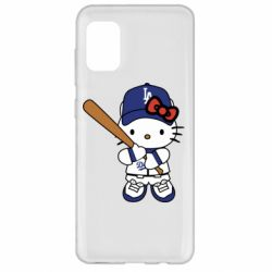 Чохол для Samsung A31 Hello Kitty baseball