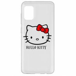Чехол для Samsung A31 Hello Kitty